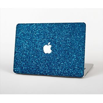 The Blue Sparkly Glitter Ultra Metallic Skin Set for the Apple MacBook Pro 13""