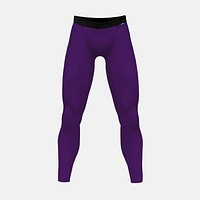 Hue Purple Tights For Men