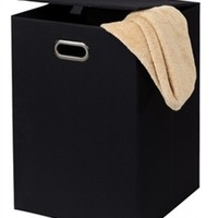 Cheap Dormroom Essentials To Make Life Easy - Fold N Store Collapsible Hamper - Black only