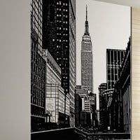New York City Empire State Building Wall Decal #5206