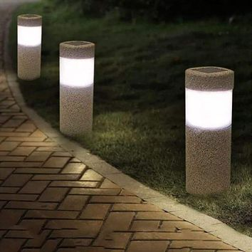 Solar Waterproof LED Path Lamp