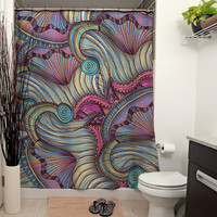 Gates of the Nereids Shower Curtain
