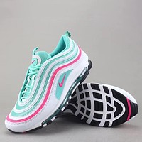 Trendsetter Nike Air Max 97 Og Qs  Women Men Fashion Sneakers Sport Shoes