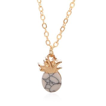Jewelry Shiny Gift New Arrival Fruits Pendant Stylish Simple Design Necklace [167719927823]