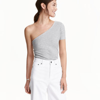 One-shoulder Top - from H&M