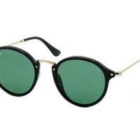 NEW Ray Ban RB2447 90158 49 Grey Green Mens Womens Sunglasses Glasses Polarised
