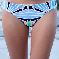 Radar Tribal Print Seamless Skimpy Bikini Bottom at PacSun.com