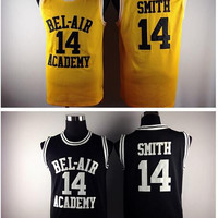 Carlton Banks Will Smith The Fresh Prince of Bel Air Academy Jersey Yellow Black