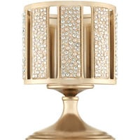 Champagne Pearl Gem Pedestal 3-Wick Candle Sleeve | Bath And Body Works
