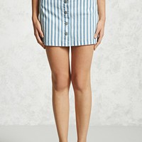 Contemporary Striped Skirt