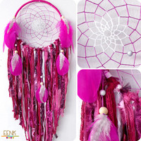 Limited Edition For Your Valentine Large Handwoven Native Style Dreamcatcher