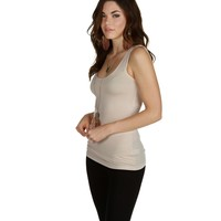 Promo-ivory Double Layer Tank