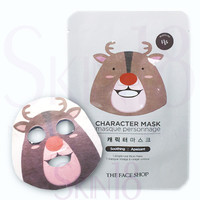 The Face Shop Character Mask - Rudolph (Reindeer) (Soothing/Skin-resting)