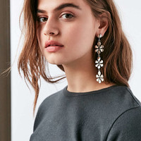 Daisy Statement Drop Earring - Urban Outfitters