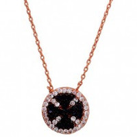 Cross Sterling Silver Cable Necklace