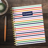 Luxe Preppy Stripe Academic Weekly/Monthly Planner