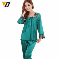 Silk Pajamas Sets - 4 colors