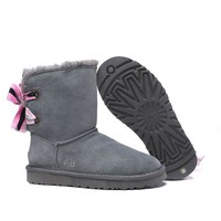 Women's UGG snow boots Middle boots DHL _1686248855-450