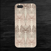 Repeating Owl Pattern iPhone4 and iPhone5 Case