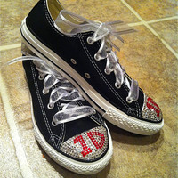 ONE DIRECTION (1D) Bling Chuck Taylor Converse Sneakers