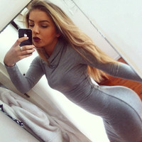 Sexy Tight Long-Sleeved Dress 4909368