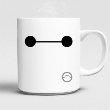 Disney Big Hero 6 Baymax Face Mug 11oz Ceramics
