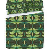 DENY Designs Home Accessories | Raven Jumpo Mod Fronds Sheet Set