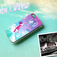 Custom Pet Silicone Phone Case - Personalized Space Cat Art iPhone, Samsung Galaxy