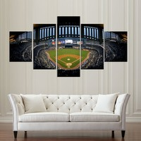 New York Yankees Stadium Canvas Print