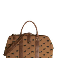 ModCloth Rustic The Scenic Commute Weekend Bag in Gallop