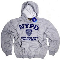 NYPD Shirt Hoodie Sweatshirt Authentic Clothing Apparel Officially Licensed Merchandise by The New York City Police Department