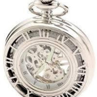 Charles-Hubert Paris Classic Collection Pocket Watch Men's Gift Birthday Father's Day