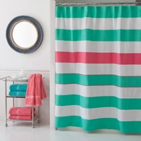 Cabana Stripe Shower Curtain Style: 028828210234