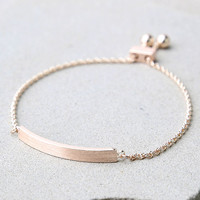 You Name It Rose Gold Bracelet
