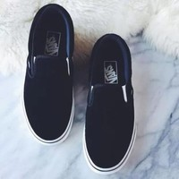 VANS Slip-On Old Skool Flats Shoes Sneakers Sport Shoes