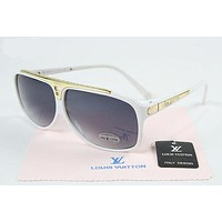 Louis Vuitton LV Woman Men Fashion Summer Sun Shades Eyeglasses Glasses Sunglasses-26