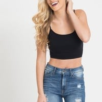 Amy Cropped Seamless Cami
