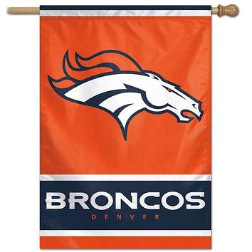 Denver Broncos Game Day 28x40 Wall Banner