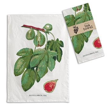 Fig Tea Towel - Box of 4