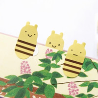 Bee Index Sticky Note