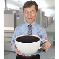 The Caffeine Craver's Colossal Coffee Cup