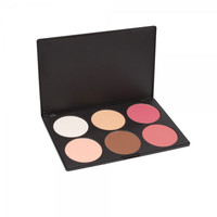 6 Color Makeup Cosmetic Blush Palette