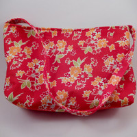 Miss Kate Baguette Red Floral small purse