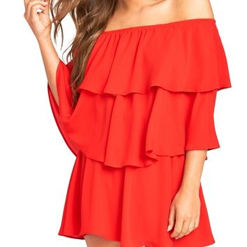 Bonfire Triple Decker Romper
