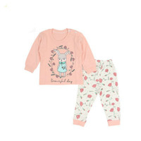 2016 new brand fashion baby girls clothes long sleeve t-shirt + pants 2pcs suit cotton baby girl newborn clothing set