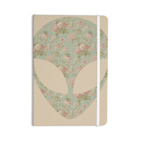 "Alias ""Floral Alien"" Pink Teal Everything Notebook"