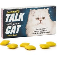 INSTANTLY TALK WITH YOUR CAT GUM