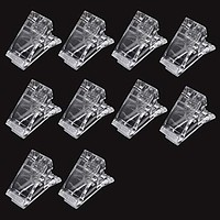 Nail Tips Clip for Quick Building Polygel Nail clips for polygel Finger Nail Extension