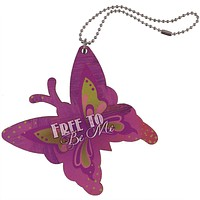 Free to Me Butterfly Car Charm