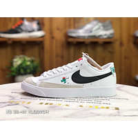 Morechoice Tuia Nike Blazer Low 77 Gs The World Is Your Playground Casual Women Men Flat Shoes Leather Suede Sneaker Dj5201 106